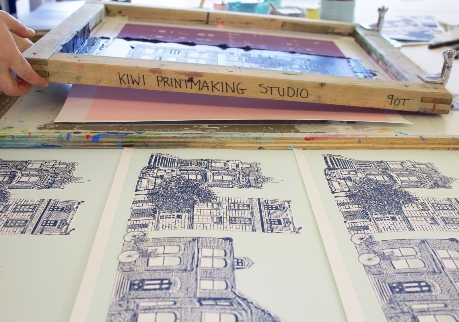 4bbb6502 Join us in our fully equipped screen printing studio located in Cornwall  surrounded by beautiful scenery. In our four day intensive screen printing  course ...