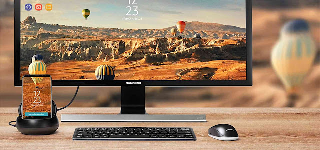 Samsung DeX Station, Desktop Experience for Samsung Galaxy S8 and Galaxy S8+