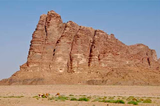 Lawrence The Seven Pillars of Wisdom Wadi Rum Jordan