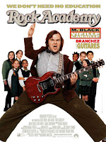 affiche de ROCK ACADEMY (School of Rock) comédie avec Jack Black