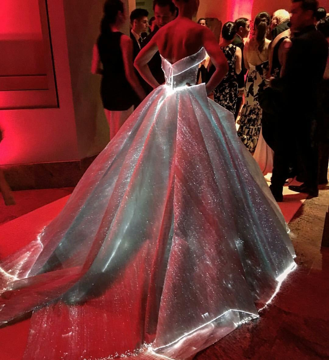 glow-in-the-dark dress