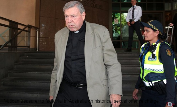 Vatican treasurer to confront trial in Australia on authentic sexual offense charges