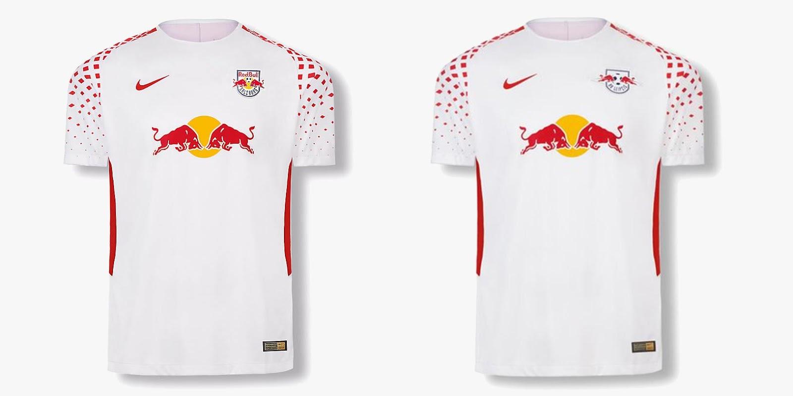 91494d89da4 Nike Red Bull Salzburg (+ RB Leipzig ) 18-19 Home Kit Teased ...
