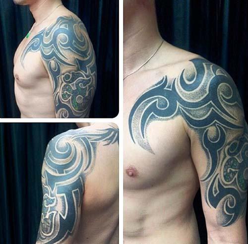 erkek tribal dövmeler man tribal tattoos 29