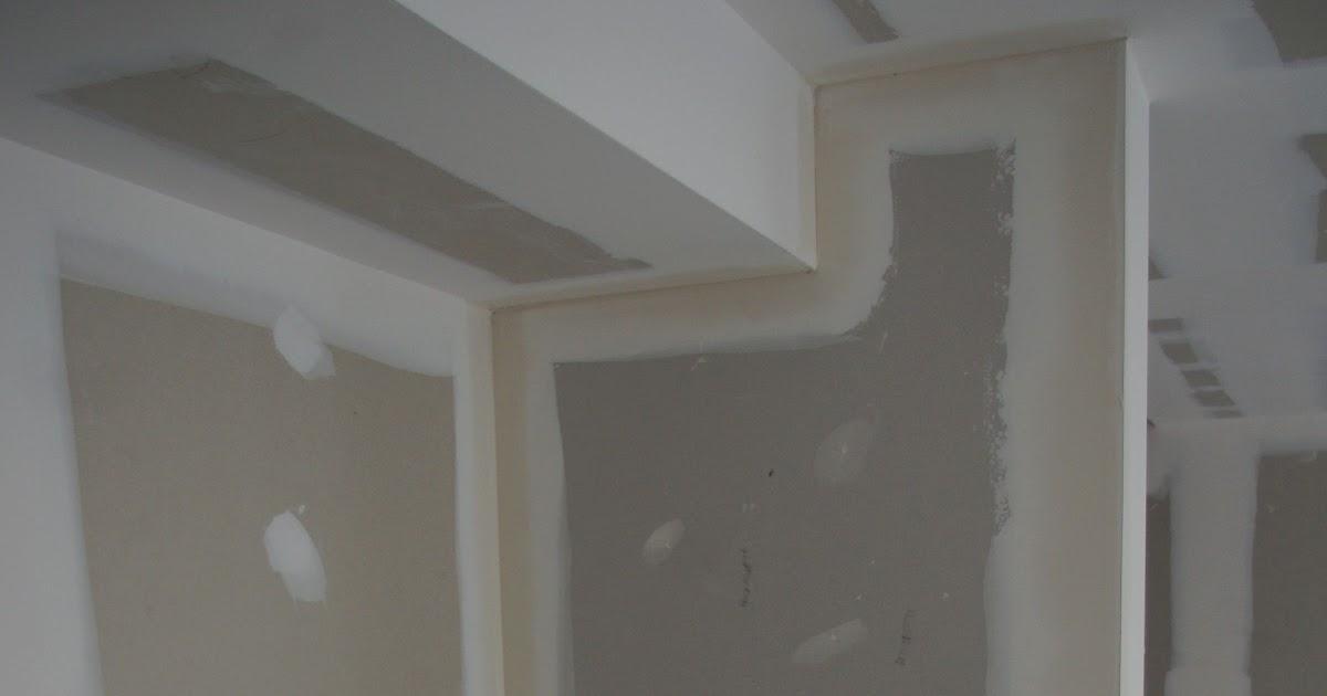finitions placo avant peinture projet n 19. Black Bedroom Furniture Sets. Home Design Ideas