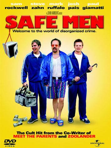 Ver Dos torpes en apuros (Safe Men) (1998) Online