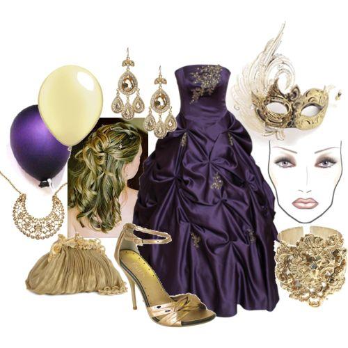 Masquerade Ball Prom Decorations: Raining Blossoms Prom Dresses: Masquerade Ball For Prom