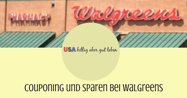 Einkaufen bei Walgreens in den USA