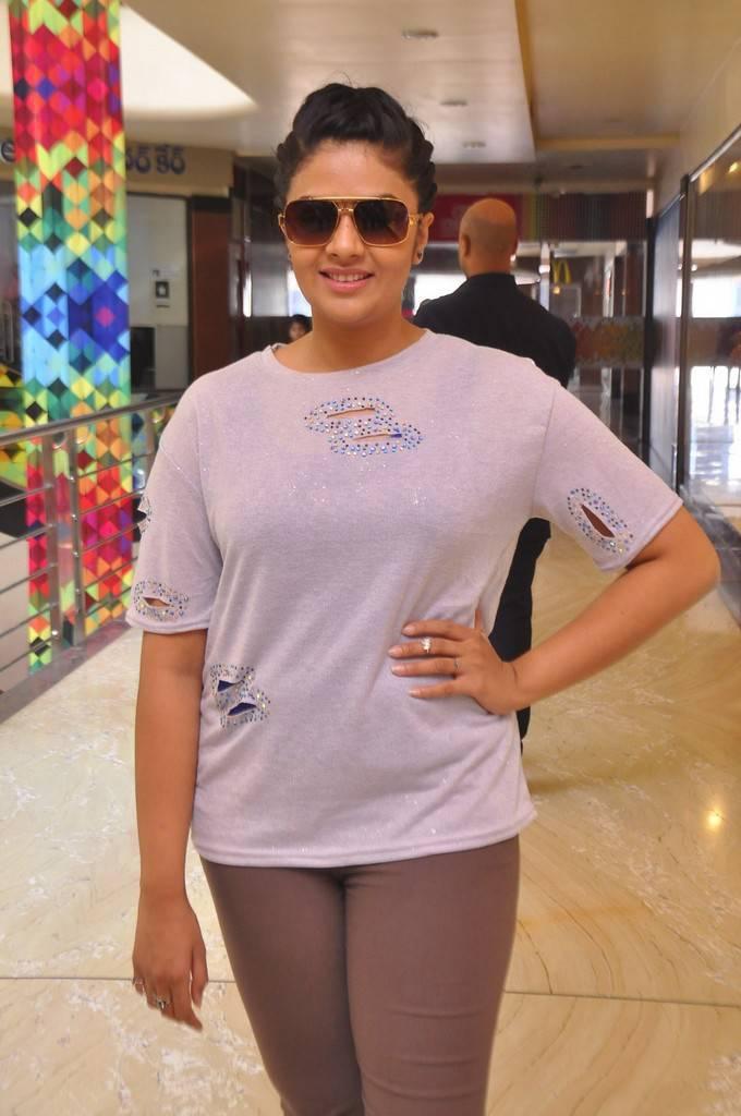Srimukhi Stills At Max Summer Collection Launch Indian Girls Villa Celebs Beauty Fashion