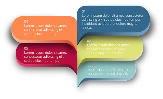 Free infographic powerpoint banners templates