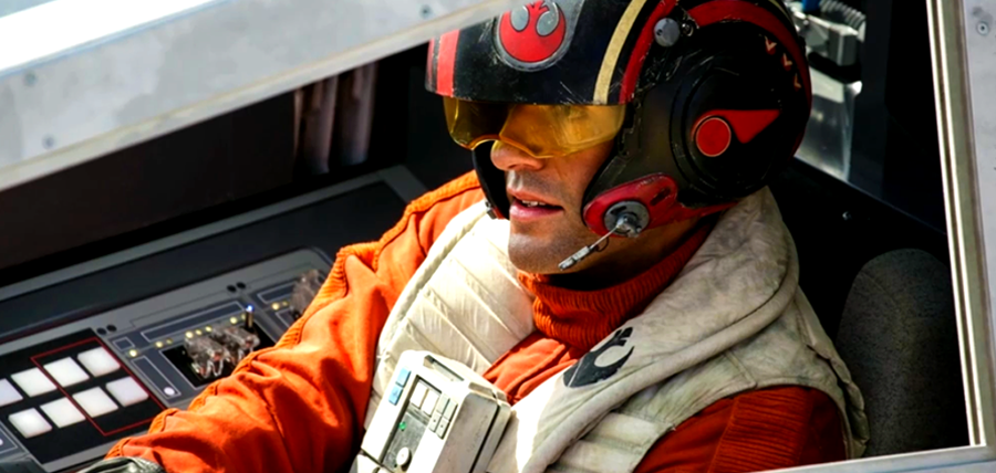 Star Wars: The Force Awakens Trailer: Poe Dameron