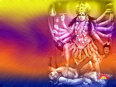 Hindu Goddess Mahakali Hd Full Size Wallpapers
