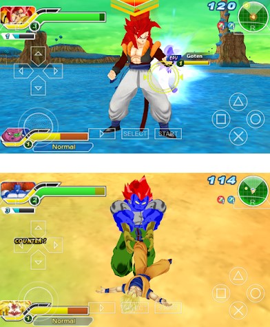 Download Dragon Ball Z Super Budokai Heroes Tenkaichi 3 Mod CSO ISO PPSSPP