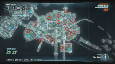 Batman Arkham Knight, Breakable Object Location, Miagani Island