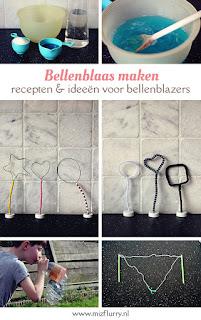 Bellenblaas maken - recepten en ideeën voor bellenblazers