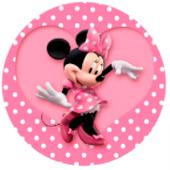Oblea para tartas Minnie