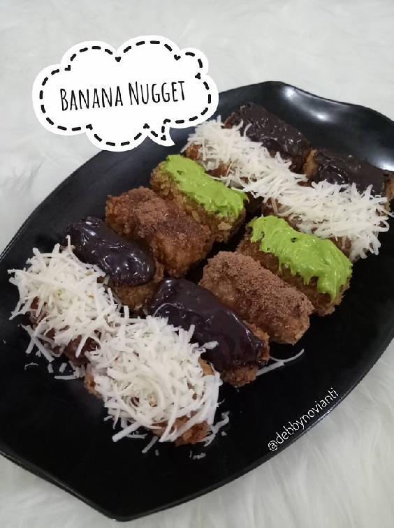 Resep Banana Nugget : resep, banana, nugget, Resep, Membuat, Banana, Nugget, RESEPXYZ