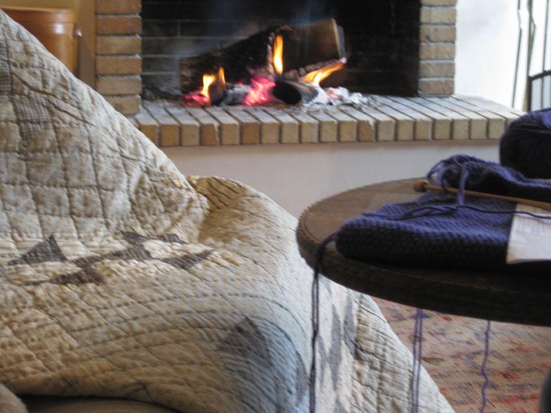 Quilt & yarn