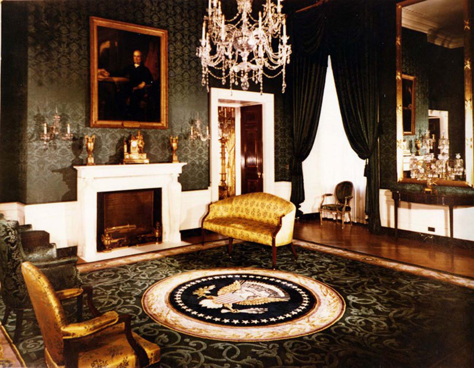 White House Green Room. 1952.