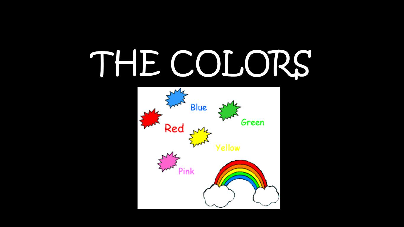 Jugando Con El Ingles The Colors