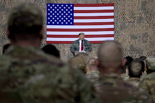 Iraq's lawmakers ask's the US government to withdraw their troops shortly after Trump visited.