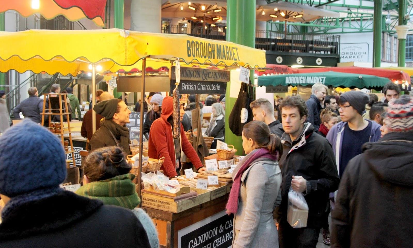 Clashing Time talks Borough Market