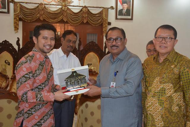 Foto Kunjungan Dirjen PKP Kemendes PDTdT dan Anggota Komisi V DPR-RI