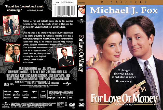 For Love Or Money DVD Cover