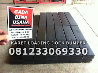 Karet Loading Dock Bumper