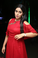 Poorna in Maroon Dress at Rakshasi movie Press meet Cute Pics ~  Exclusive 50.JPG