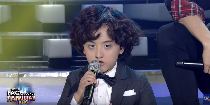 'Your Face Sounds Familiar' Kids: Alonzo Muhlach