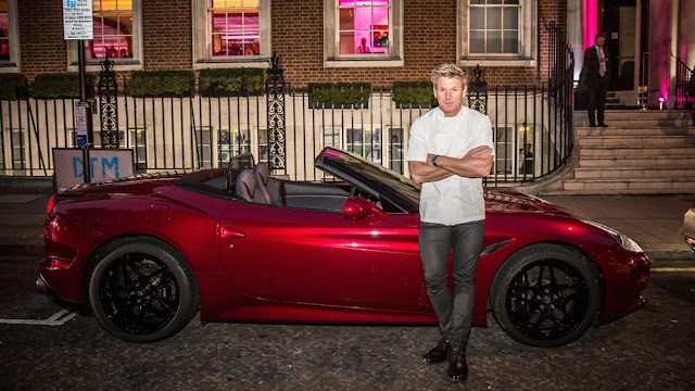 Gordon Ramsay Ferrari California