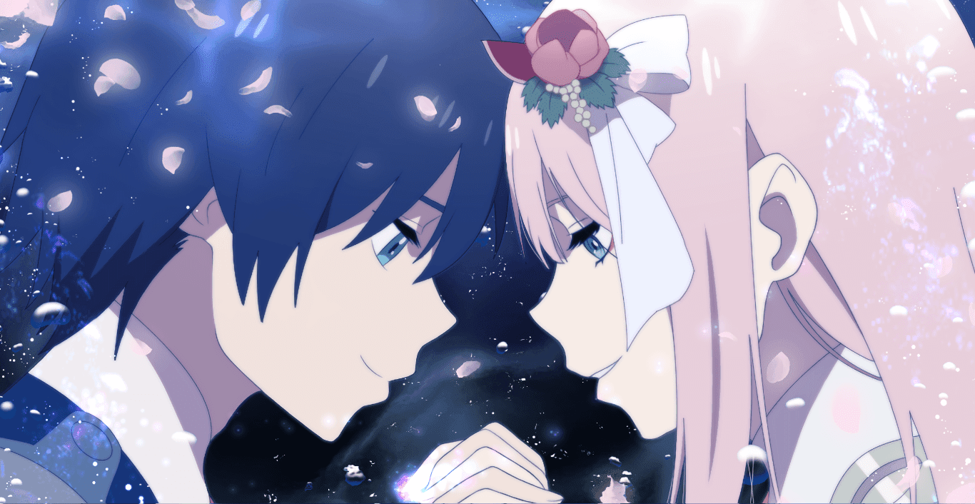 Darling In The Franxx Zero Two Hiro Wallpaper Engine Anime