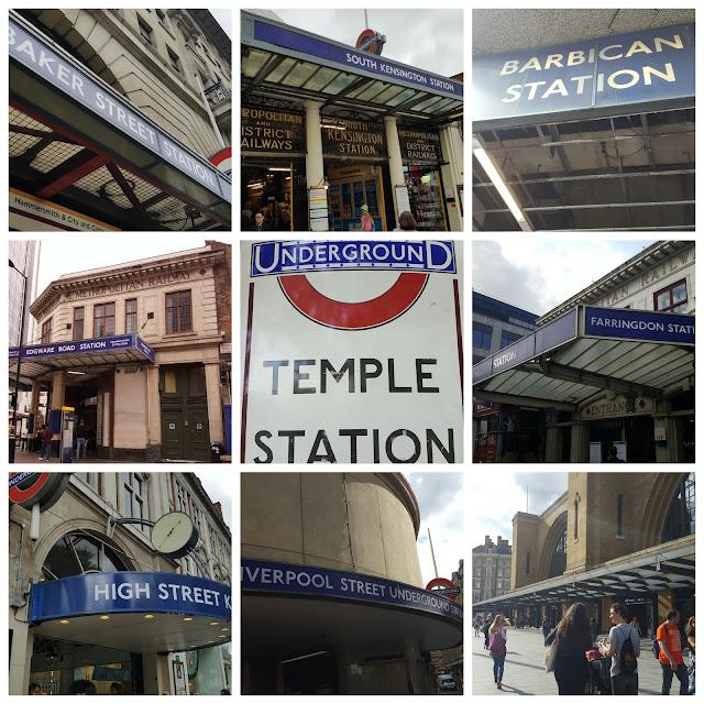 tube stations