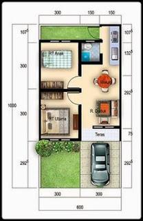 Desain Interior Rumah Minimalis Tipe 36 1