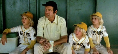 Walter Matthau as reluctant Bad News Bears coach (1976)