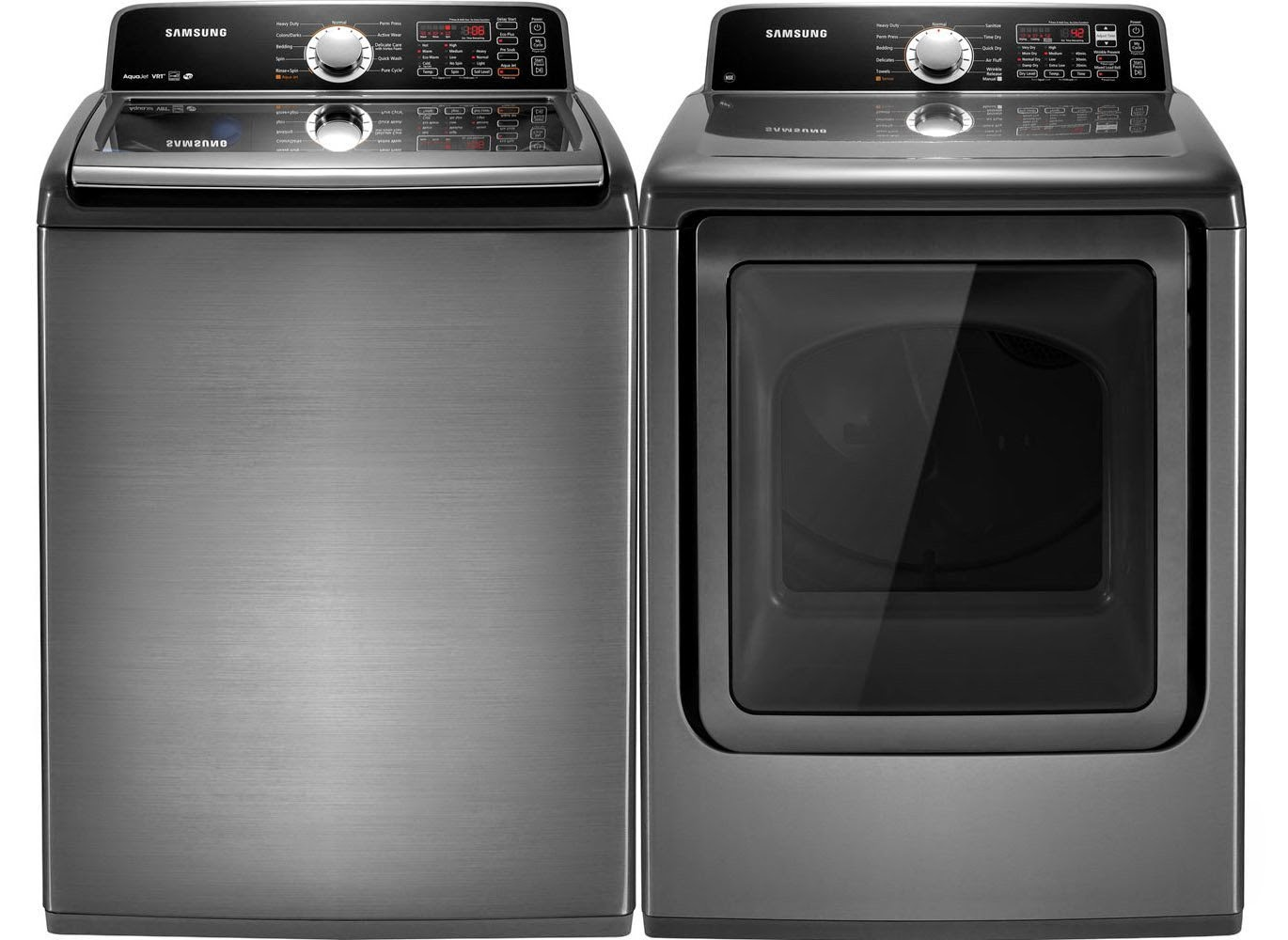 Miele stackable washer dryer ventless - Samsung Platinum King Size Smart Care Top Load Laundry Sets
