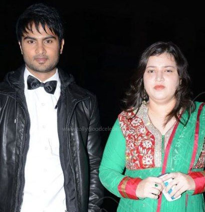 Sudheer Babu and his wife: