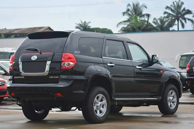Wow! Check Out This Latest Made in Nigeria SUV IVM G6