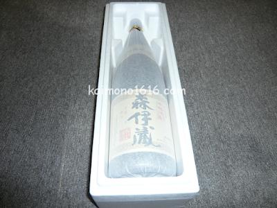 【鹿児島のお酒】森伊蔵酒造・森伊蔵1,800ml 2本目