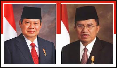 Susilo Bambang Yudhoyono dan Yusuf Kalla