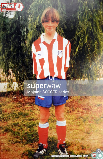 YOUNG FERNANDO TORRES ATLETICO MADRID