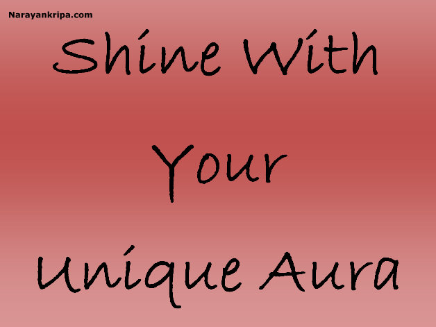Text Image: Shine with Your Unique Aura