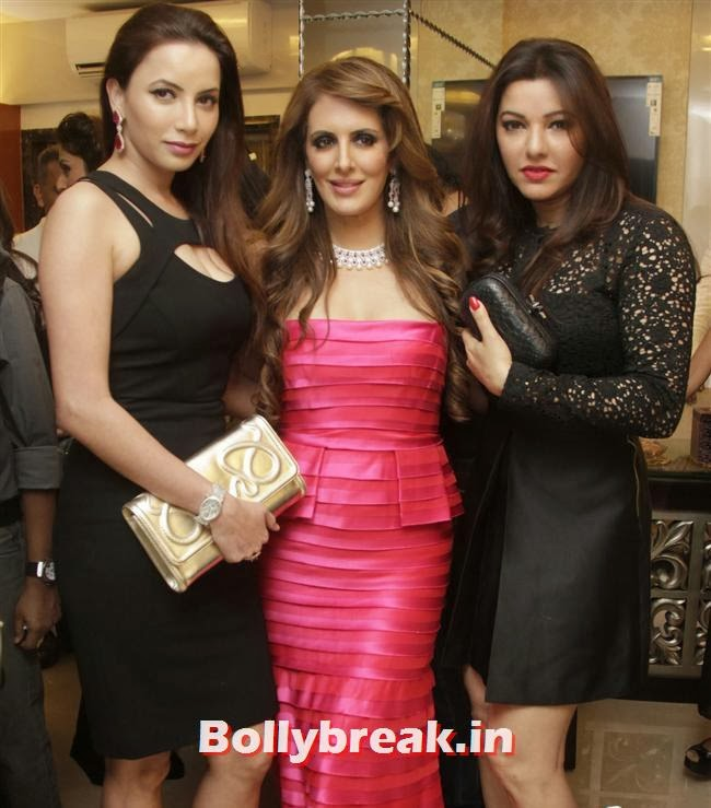 Prashita Chaudhary, Pria Kataaria Puri and Kaykasshan Patel, Aarti Chabria & Pria Kataria Puri at The Cappuccino Collection Store Launch