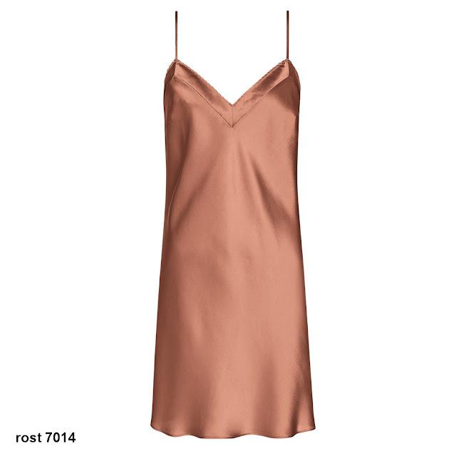Seidennachthemd Pure Silk rost von Triumph