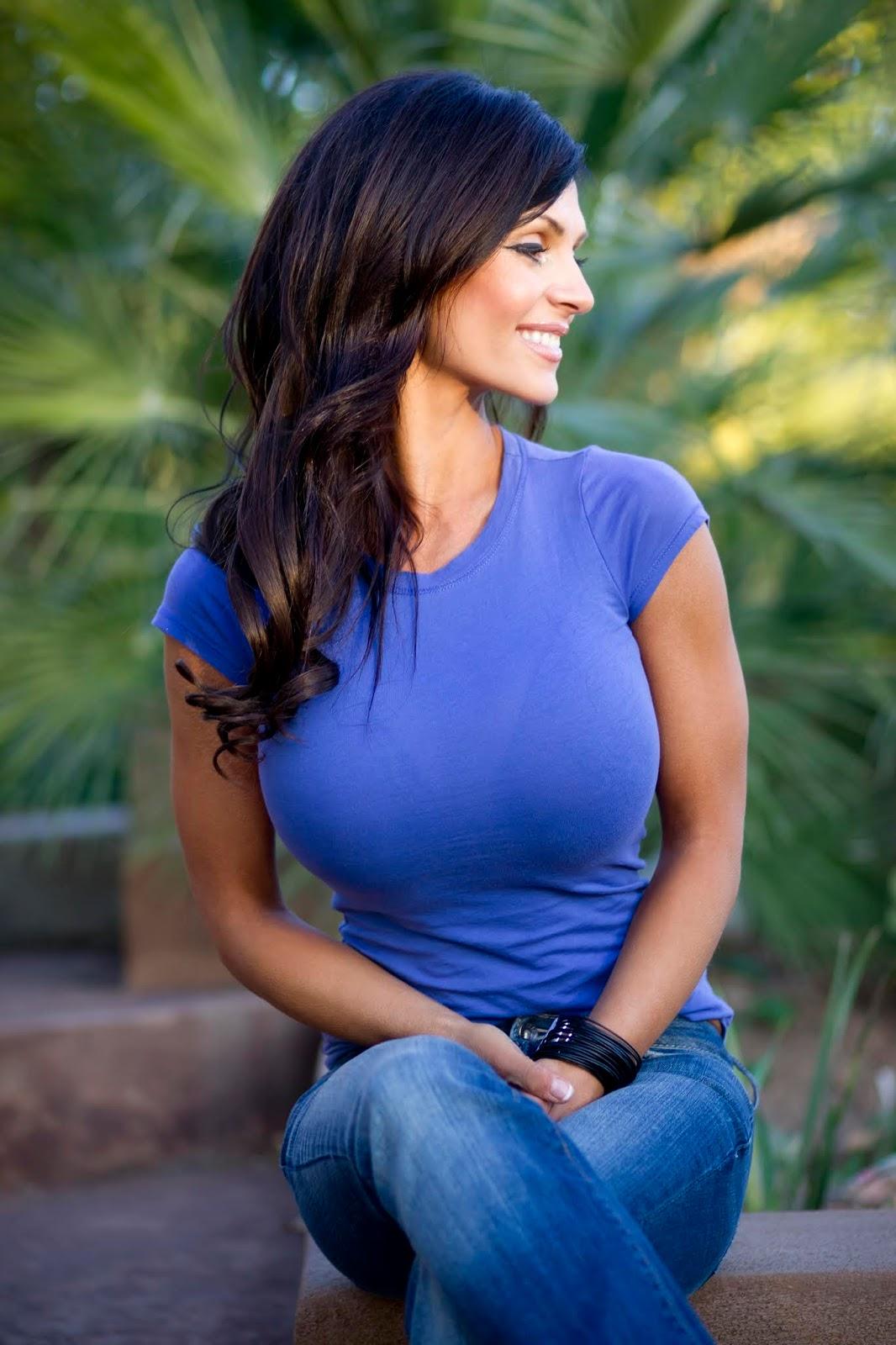 Big tits in tight shirts