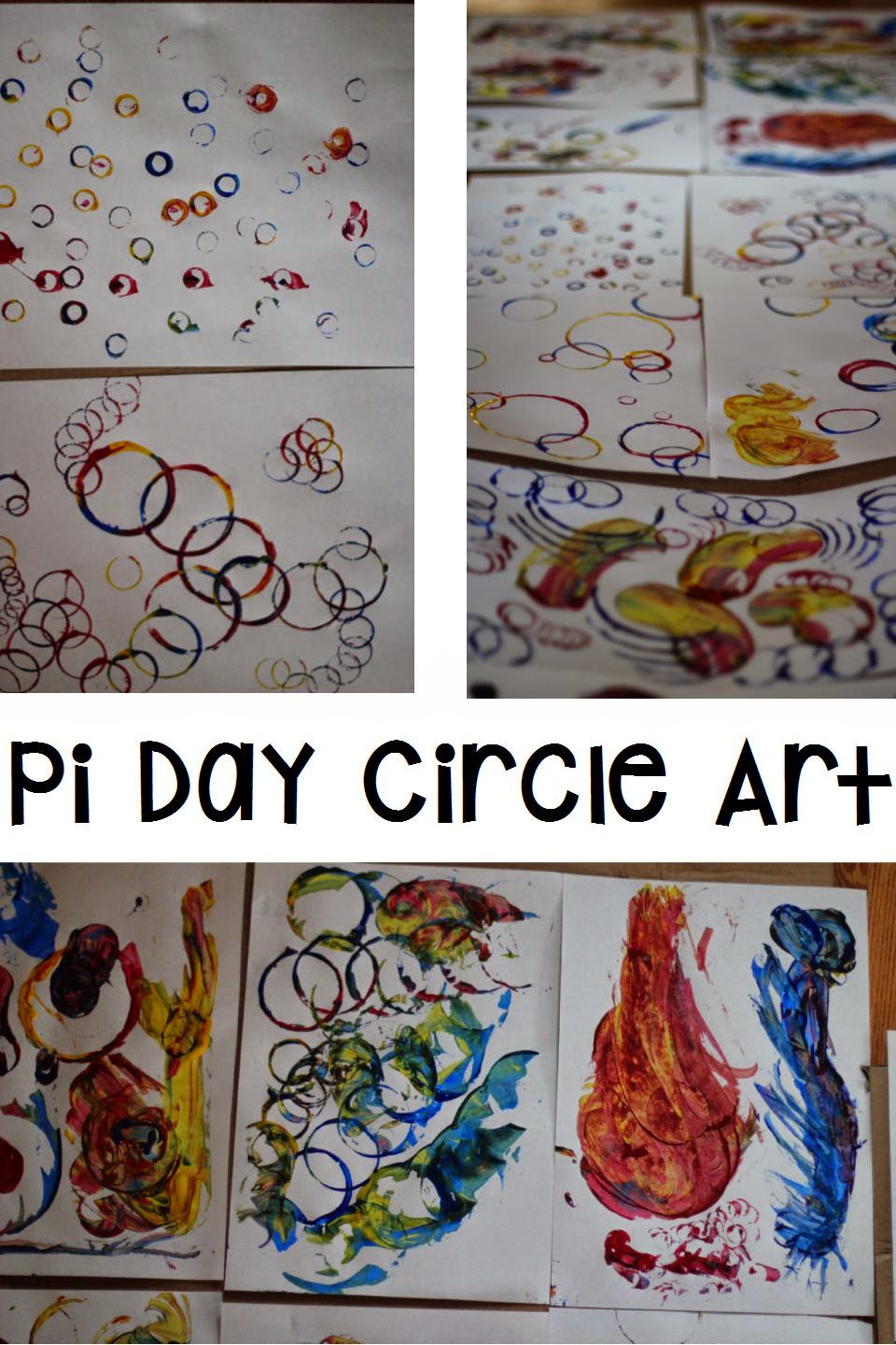Pi Day Circle Art