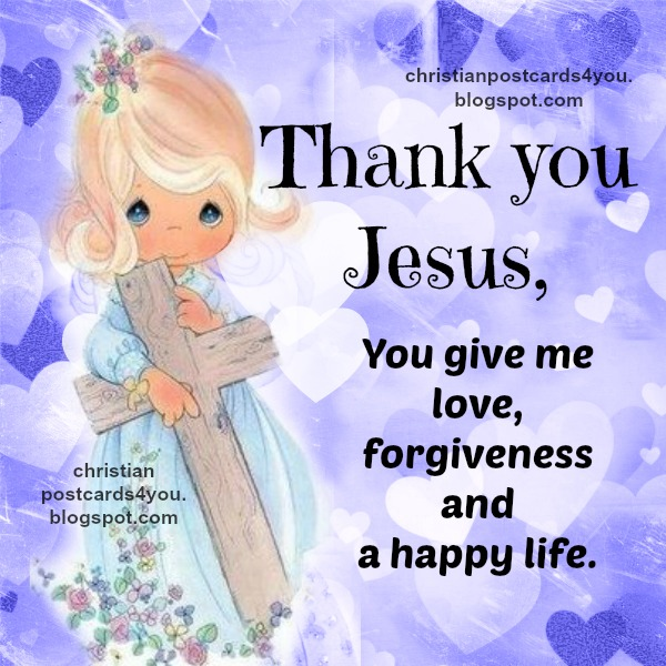 free prayer about love of Jesus, free card with nice image, Jesus died and is alive, prayer
