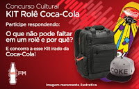 Concurso Cultural KIT Rolê Coca-Cola