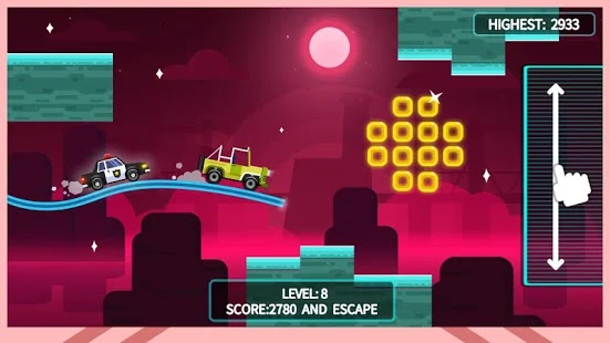 Sky Escape – Car Chase Apk Free on Android Game Download